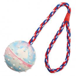 Hracka lopta gumova na lane 6cm