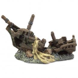 Dekorácia Vrak lodi 22 cm