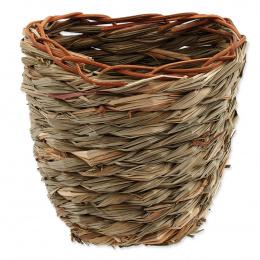 Hniezdo SA Kosik trava pletena  15x10x15cm