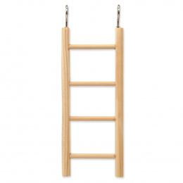 BIRD JEWEL rebrík drevený 3 priečky 15x7cm