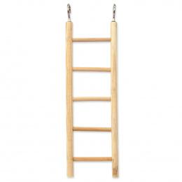 BIRD JEWEL rebrík drevený 5 priečok 22,5x5cm