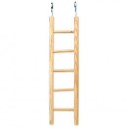 BIRD JEWEL rebrík drevený 5 priečok 34x5cm