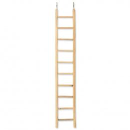 BIRD JEWEL rebrík drevený 7 priečok 40x7cm