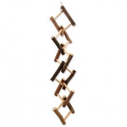 BIRD JEWEL hračka drevená rebrík prepletaný 14x55cm