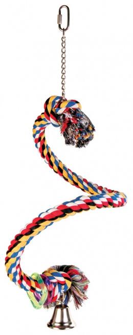 Bidlo z lana špirálové 50 cm