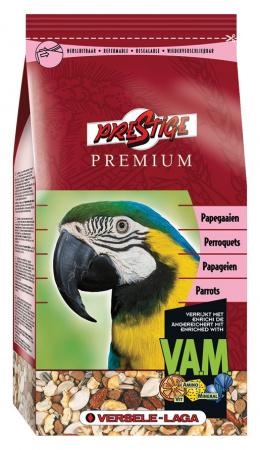Premium Prestige pre velke papagaje 1kg