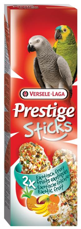 Tycinky Prestige exot.ovocie pre velke papagaje 140g