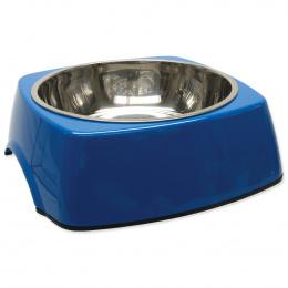 Miska DOG FANTASY nerezová čtvercová modrá