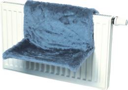 Odpocivadlo na radiator modre