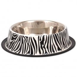 Miska DF nerez s gumou zebra 1,8l 29cm