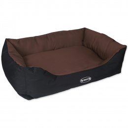 Scruffs Expedition Box Bed XL 90x70cm cokoladovy