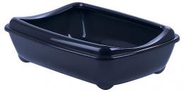 Toaleta MC Economy s okrajom 42x31x13cm modra