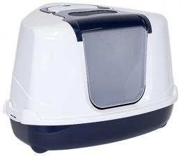 Toaleta MC Jumbo s krytom roh 59x45x39cm modra