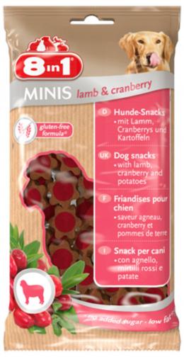 Poch. Minis Lamb a Cranberry 100g