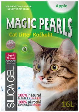 Kočkolit Magic Pearls Apple 7,6l