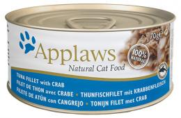 Konzerva Applaws Cat Tuna a Crab 70g