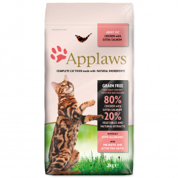 Krmivo Applaws Cat Chicken a Salmon 2kg