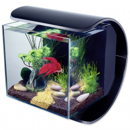 Akvarium set Tetra Silhouette LED cierny 31x31,5x27x5 12l