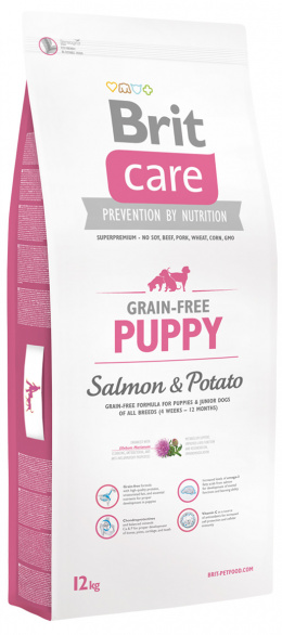 Brit Care Grain-free Puppy Salmon a Potato 12 kg