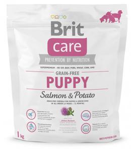 Brit Care Grain-free Puppy Salmon a Potato 1 kg