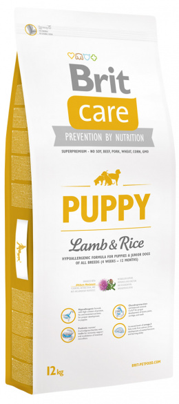 Brit Care Puppy Lamb a Rice 12 kg
