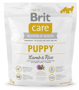 Brit Care Puppy Lamb a Rice 1 kg