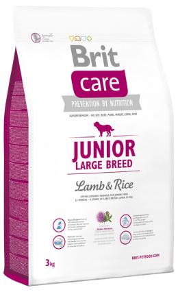 Brit Care Junior Large Breed Lamb a Rice 3 kg