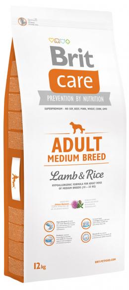 Brit Care Adult Medium Breed Lamb a Rice 12 kg