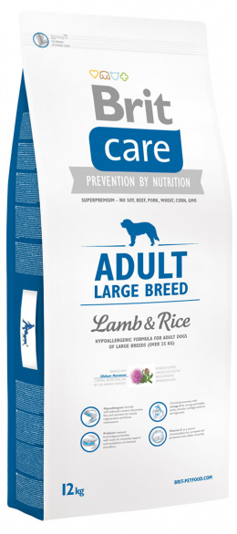Brit Care Adult Large Breed Lamb a Rice 12 kg