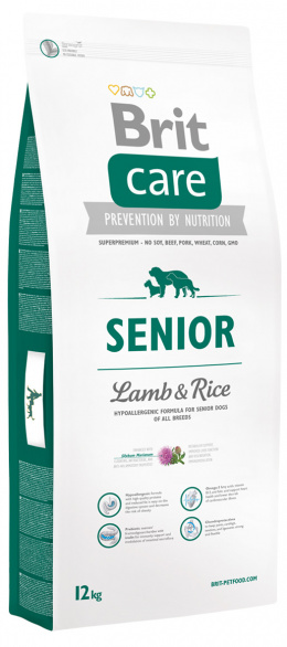 Brit Care Senior Lamb a Rice 12 kg