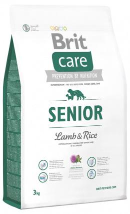 Brit Care Senior Lamb a Rice 3 kg