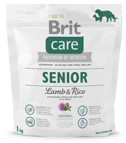 Brit Care Senior Lamb a Rice 1 kg