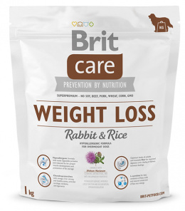 Brit Care Weight Loss Rabbit a Rice 1 kg