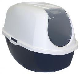 Toaleta MC s krytom 39x53x41cm modra