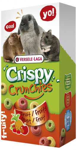 Pochutka Crispy Crunchies s ovocim 75g