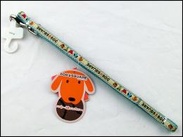Voditko nyl.DogSquareRibbon 10x120cm