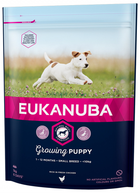 Euk Puppy a Junior Small 1kg