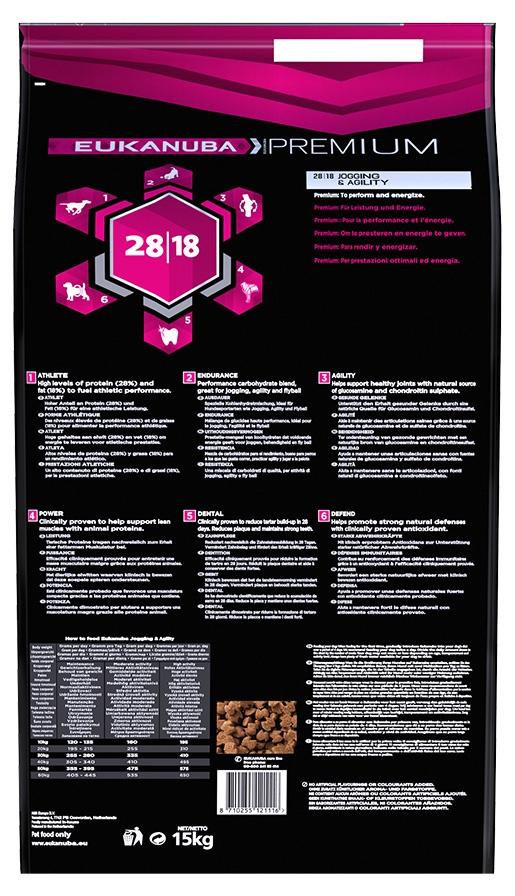Eukanuba Adult Platinum Performance Jogging & Agility 2x15kg