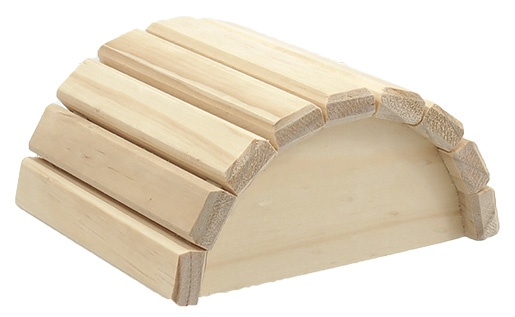 Domcek SA Polkruh dreveny 16,5x15x8cm
