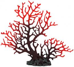 Dekorácia akv. Morský Koral fialový 23,5 x 4,5 x 19,5cm