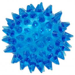Hracka DF lopta piskacia modra 5cm