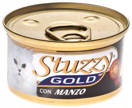 Konzerva STUZZY Cat Gold hovadzie 85g