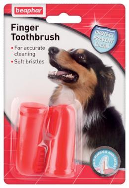 Dog A-Dent zubna kefka na prst 2ks
