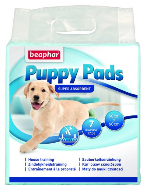 Podlozka hygienicka Puppy Pads 7ks title=