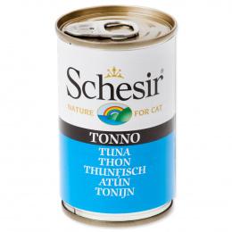 SCHESIR Cat konzerva pre mačky s tuniakom 140 g