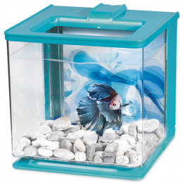 Akvarium Betta EZ plast Marina Kit 2,5l modre