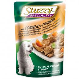 Kapsicka STUZZY Dog Speciality kralik+zelenina 100g