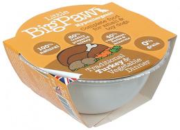 Litle Big Paw dog vanička pre psy 85 g morka a zelenina