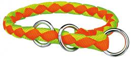Obojok Cavo skrtiaci (L) 47-55cm/18mm, neon-oranzovo-zeleny