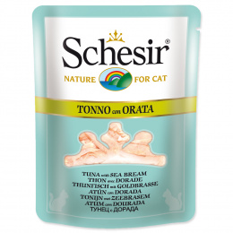 Kapsicka SCHESIR Cat tuniak+prazma vo vyvare 70g